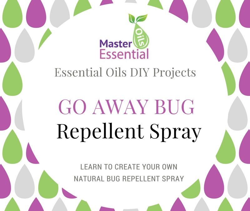 Go Away Bug Repellent – Essential Oil Spray