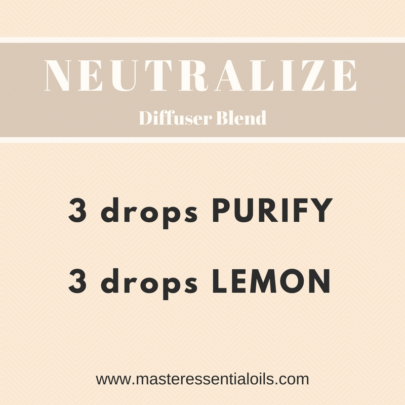 Neutralize Essential Oil Diffuser Blend