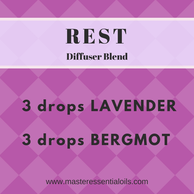 Rest Essential Oil Diffuser Blend