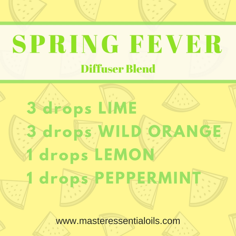 Spring Fever Essential Oil Diffuser Blend