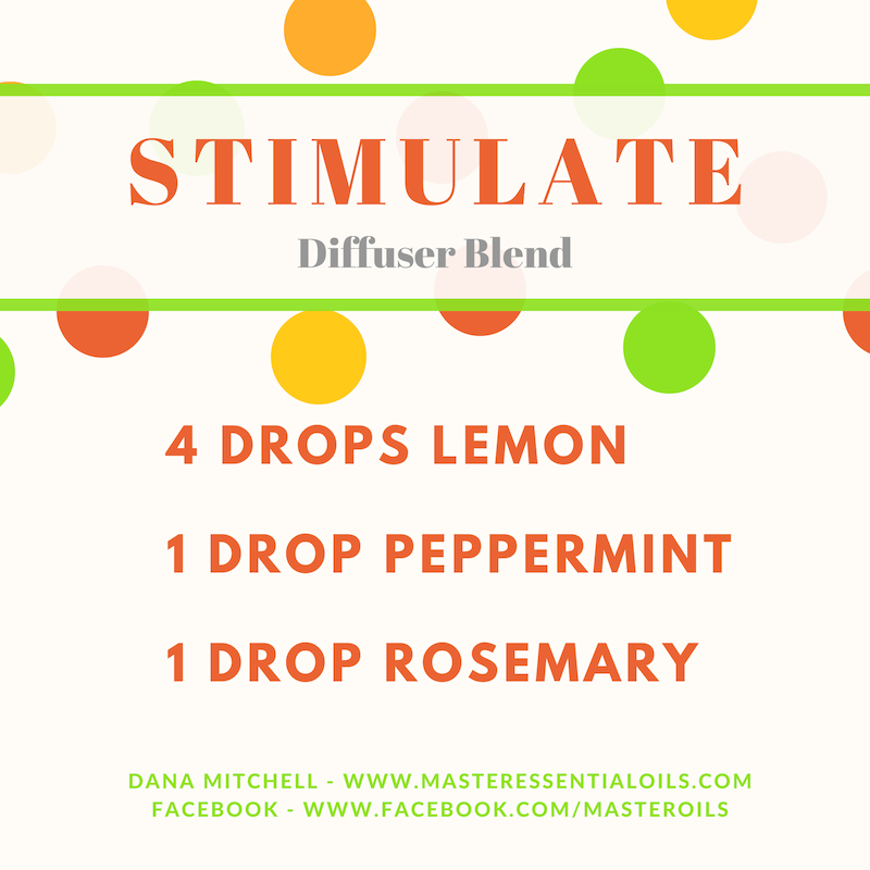 Diffuse Simulate during the afternoon for a pick me up