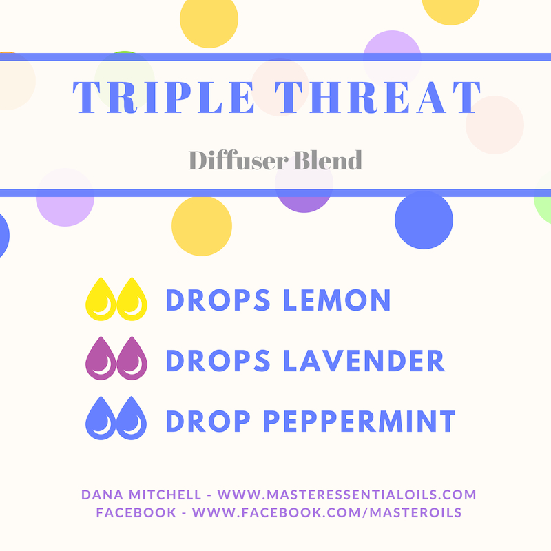 Diffuse Triple Threat to combat seasonal issues