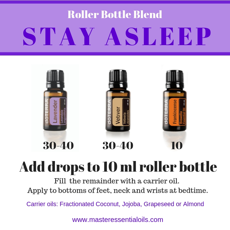 Roller bottle for Stay Asleep with Lavender