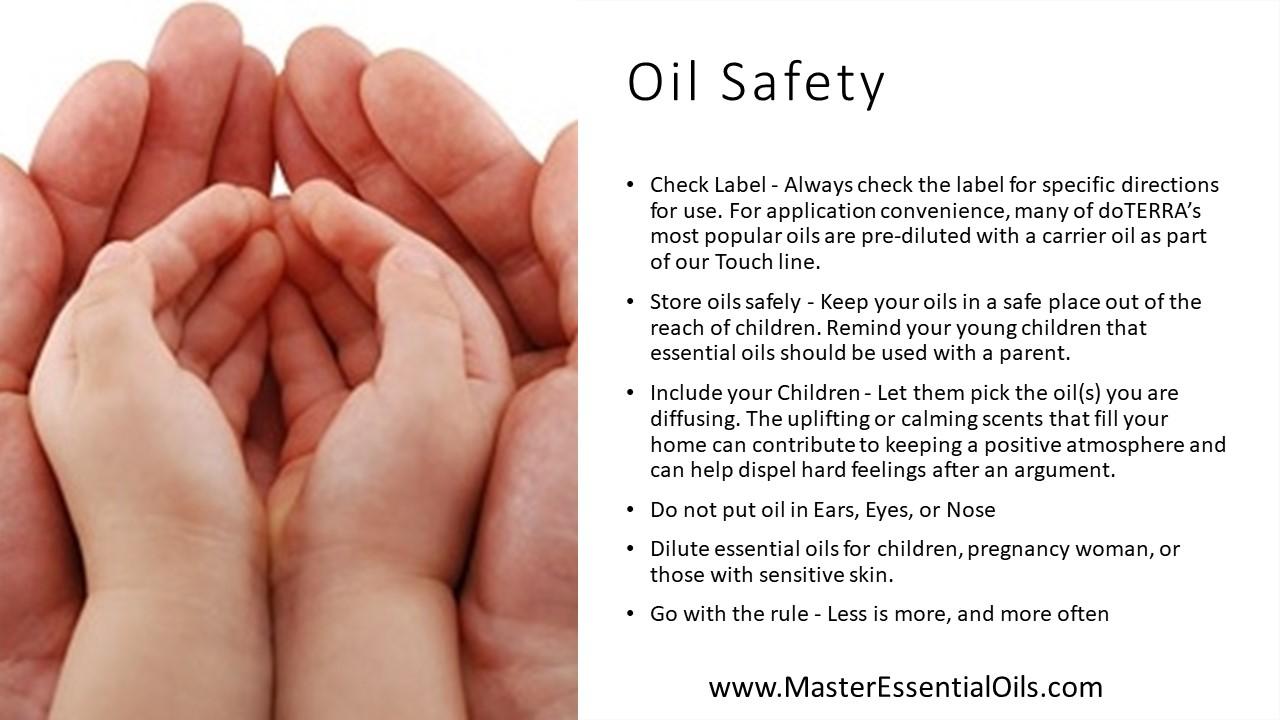 Oil Safety - Children